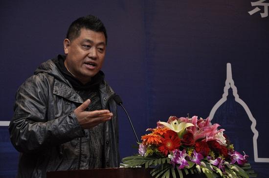 著名导演姜凯阳先生致辞 摄影刘海超