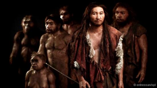 我们许多人身上多少都携带有早期人类的基因。