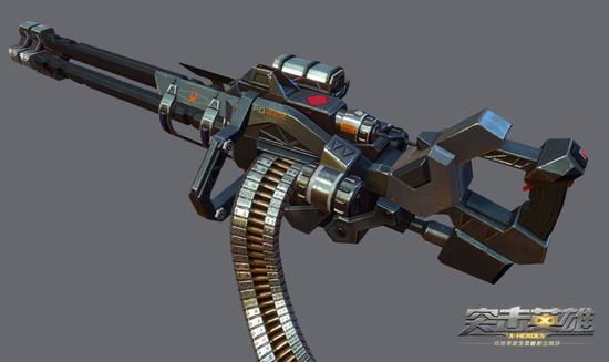 游戏科幻手绘武器