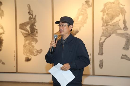 中国艺术研究院常务副院长、中国艺术研究院中国画院院长田黎明教授 致开幕辞
