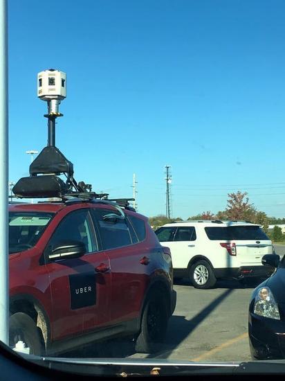 为了优化驾驶路线 Uber用微软技术造了街景汽车