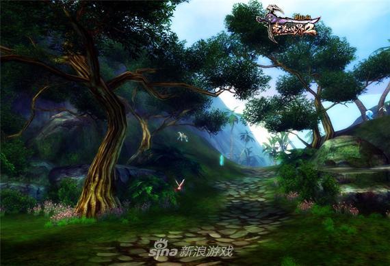 《完美国际2》森林场景截图