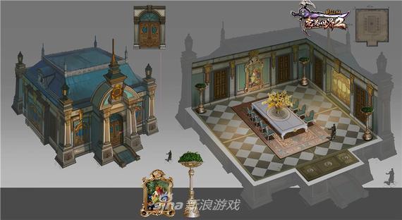 《完美国际2》神秘家园欧式建筑图
