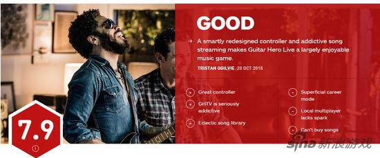 IGN对于《吉他英雄Live》的总评