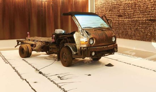 汽车艺术品背后是满满的故事