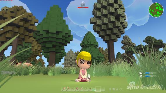 我的世界翻版《Islet Online》游戏截图