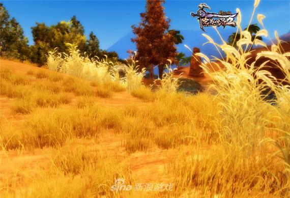 《完美国际2》游戏金色草丛截图