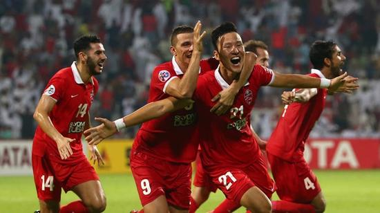 韩国外援权敬源绝杀帮助迪拜阿赫利挺进决赛