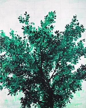 张恩利作品《树》