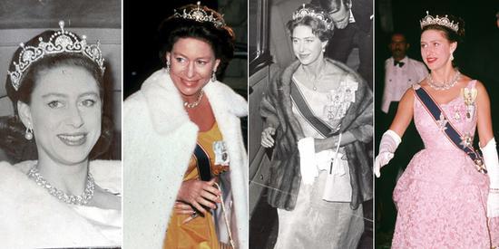 英国王太后最小的女儿玛格丽特公主对王冠情有独钟