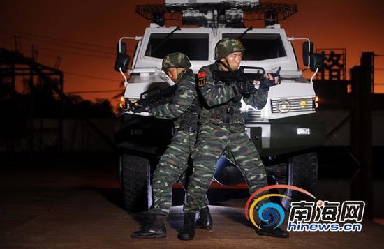 探秘海南武警特战队员是怎样炼成的。(武警供图)