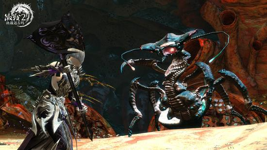 图6:与丛林怪物战斗