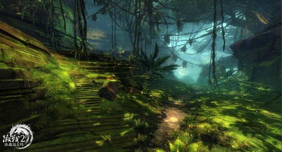 图3:迈古玛丛林场景