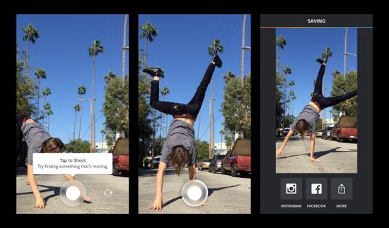 Instagram推视频应用:一键制作GIF动画