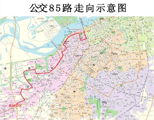 安阳公交地图高清版
