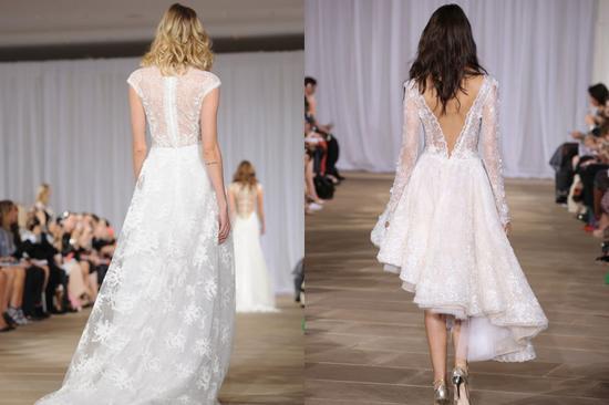 美背新娘必选:露背款式婚纱!