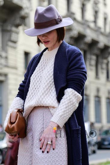 短发 爵士帽|发型|头发长度|帽子_新浪时尚_新浪网