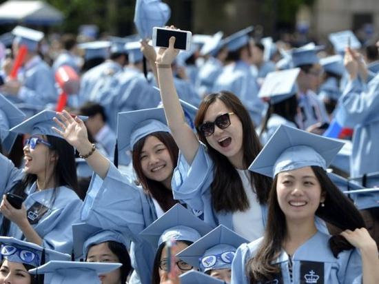 资料图:中国留学生