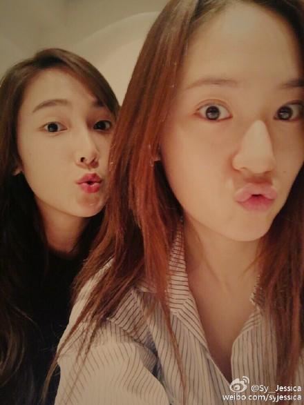 Jessica为妹妹Krystal庆生