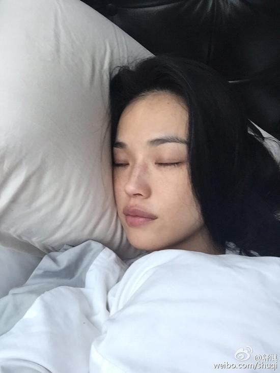 睡眠中的舒湛