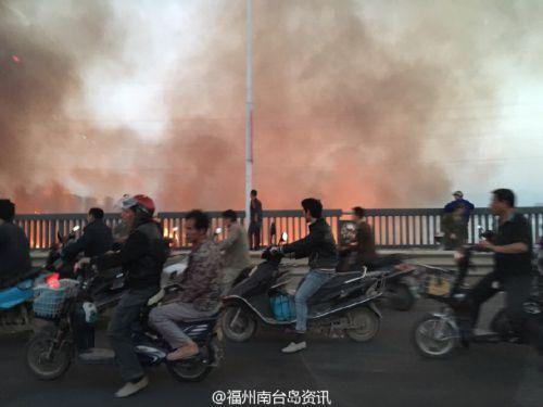 现场图片来自@福州南台岛资讯