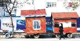 """瓜农的""""房车"""""""