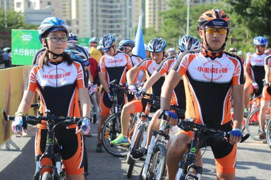 全民健身小米骑行团 引领三亚荣誉骑行