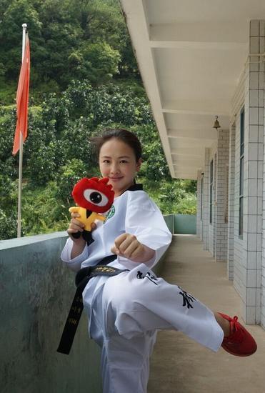 厦门最美体育老师杨李妹