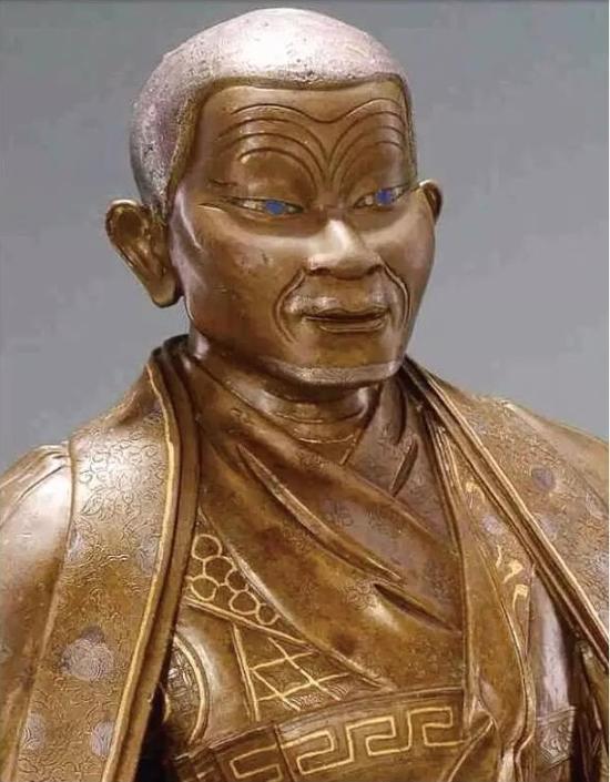 一世噶玛巴像(局部)