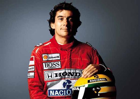 F1三冠车手艾尔顿-塞纳