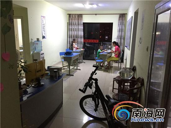 明师大教育的办公客厅。南海网记者高鹏摄