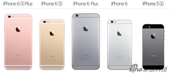 苹果官网的iPhone宣传页 大屏手机已成主流