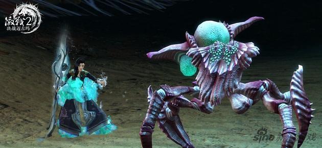 利用专精能力与怪物战斗