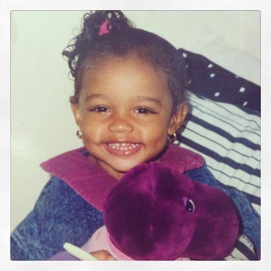 Jasmine Tookes童年