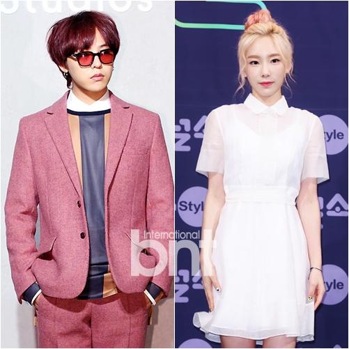 BIGBANG G-DRAGON、少女时代 泰妍