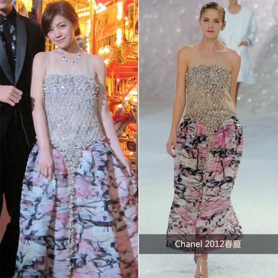 陈妍希 in Chanel 2012春夏