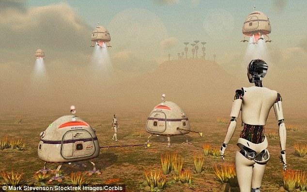 英国天文物理学家和宇宙学家马丁?里斯爵士(Sir Martin Rees)相信,如果我们真的设法探测到了外星人,这些外星人不会是有机生命,而是某种机器,向我们发出了信号。