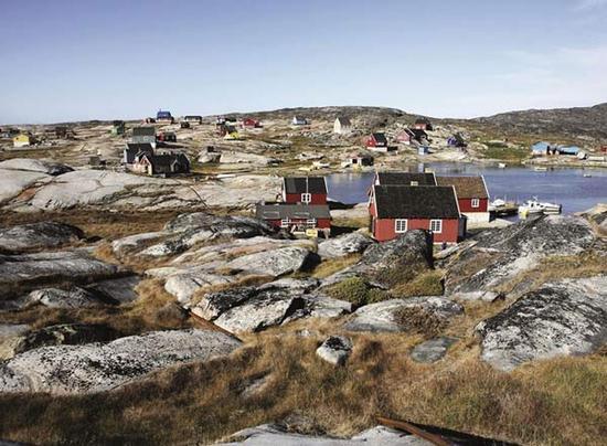 格陵兰岛地图_格陵兰岛人口
