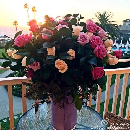 李玟和富豪老公互送惊喜庆祝结婚四周年图片