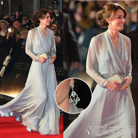 凯特王妃出席007首映礼