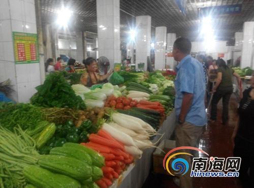 汇鑫农贸市场环境改善