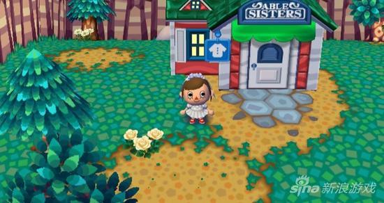 《动物之森》的乐趣之一就是到朋友们的村子里拜访