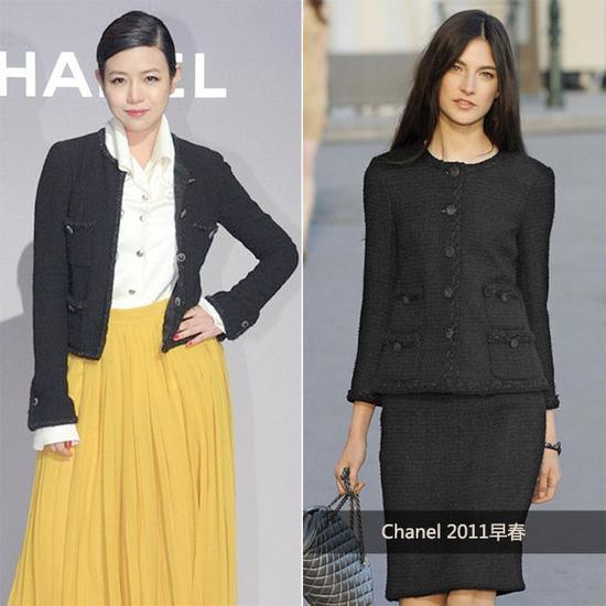 陈妍希 in Chanel 2011早春