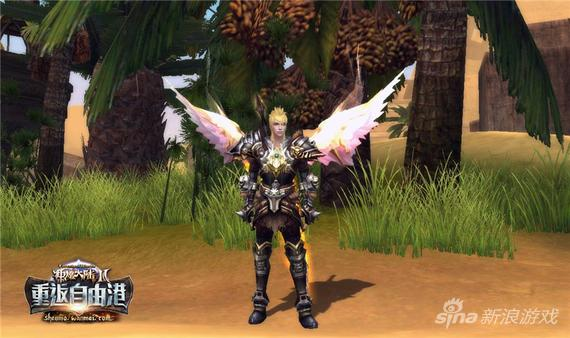 《神魔大陆2》圣光之翼不同种族区分设定