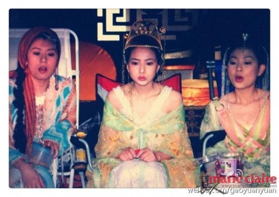 2005年,在拍摄《秦王李世民》