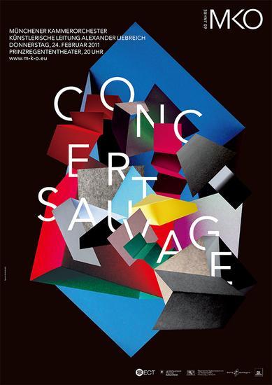 Gerwin Schmidt葛文·施密特-2010年、2011年慕尼黑室内乐团海报