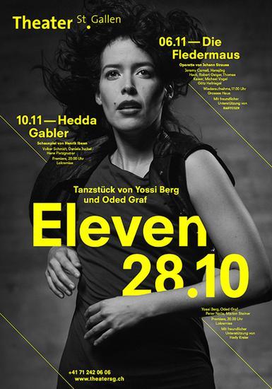 Bureau Collective工作室-2011年12月圣加仑剧院的季海报