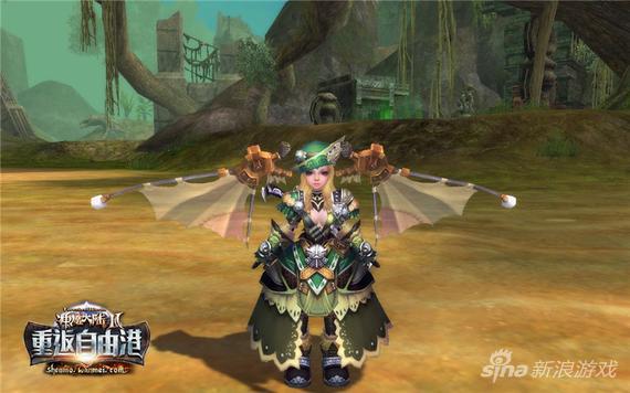 《神魔大陆2》圣光之翼,强者象征