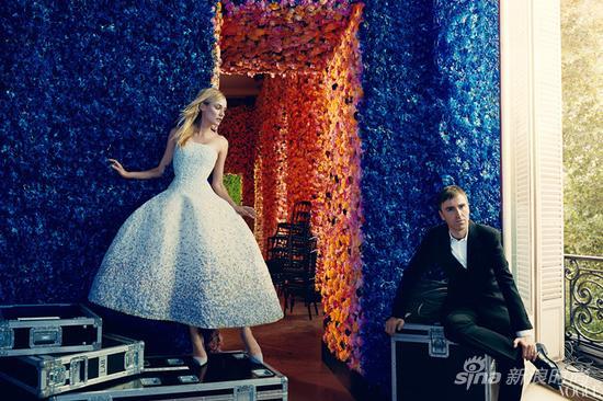 Dior与Simons