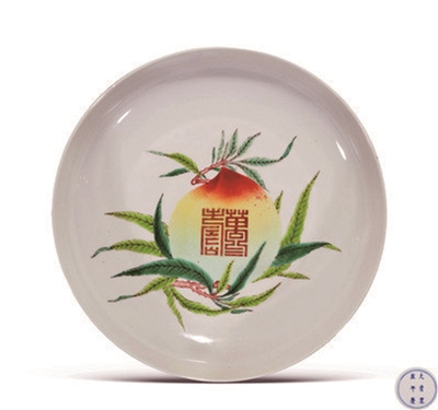 明清瓷器寿文化
